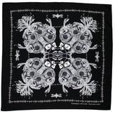 Thomas Wylde Abstract Print Silk Scarf
