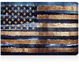 "Oliver Gal Rocky Navy Freedom Wall Art, 24"" x 16"""