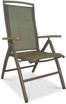 Island Breeze Folding Arm Chair, Quick Ship