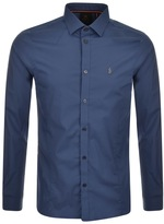 Luke 1977 Butchers Pencil Shirt Blue
