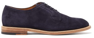 Paul Smith Gale Suede Derby Shoes - Navy