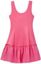 Ella Moss Anneka Drop Waist Tulip Dress (Big Girls)