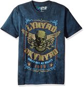 Liquid Blue Men's Lynyrd Skynyrd Gimme Back My Bullets Short Sleeve T-Shirt