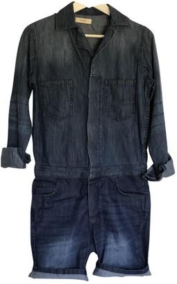 BA&SH Bash Blue Denim - Jeans Jumpsuit for Women