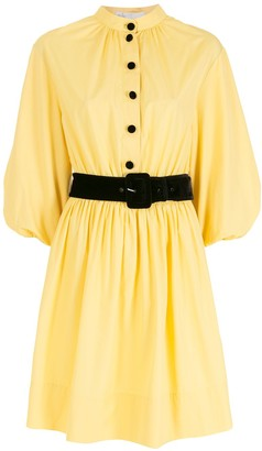 Nk Belted Cotton Dress