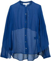 Robert Rodriguez sheer blouse - women - Silk - 4