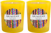 Qualitas Candles Grapefruit Beeswax Candles (Set of 2) (6.5 OZ)