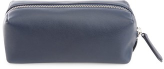Royce New York Zipper Leather Travel Utility Bag