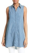 Alice + Olivia Women's Anisa Sleeveless Chambray Tunic