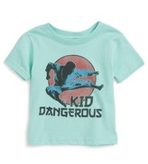 Kid Dangerous Infant Boy's Kung Fu Graphic T-Shirt