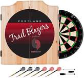 Kohl's Portland Trail Blazers Hardwood Classics Wood Dart Cabinet Set