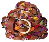 Mossimo Braided Fabric Belt - Brown