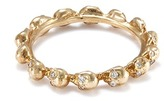 Delfina Delettrez Diamond 18k yellow gold skull ring