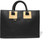 Sophie Hulme Albion Leather Tote - Black