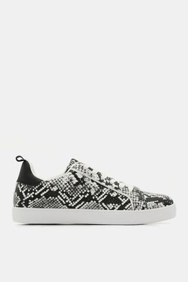 Ardene Snakeskin Faux Leather Sneakers