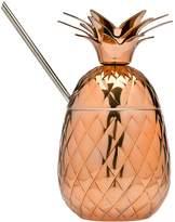 Godinger Pineapple Stainless Steel Covered Mug