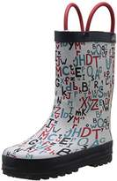 BeOnly Be Only Unisex Kids' Alphabet Mid-Calf Rain Boots Size: