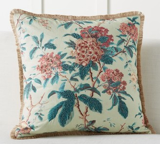 Pottery Barn Claire Floral Embroidered Pillow Cover