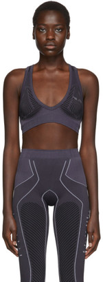 Unravel Grey Move Seamless Sporty Bra