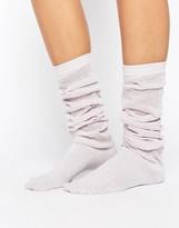 Asos Glitter Slouch Socks