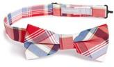 Nordstrom Boy's Plaid Cotton Bow Tie