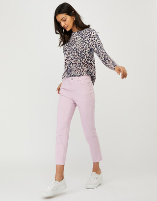 Under Armour Safaia Cropped Jeans with Organic Cotton Blue