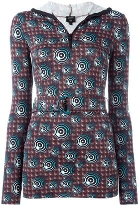 Jean Paul Gaultier Femme printed top