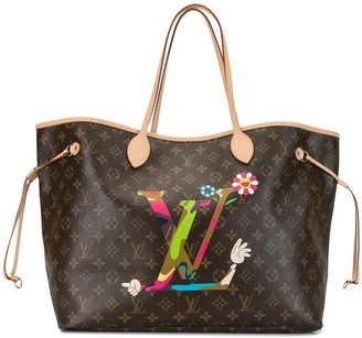 Louis Vuitton 2012 pre-owned Murakami Edition Neverfull tote
