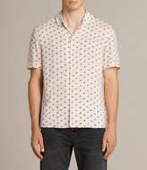 AllSaints Cerise Short Sleeve Shirt