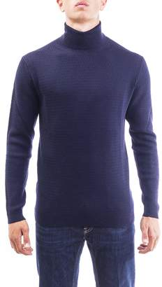 Daniele Fiesoli Merinos Wool Turtle-neck Sweater