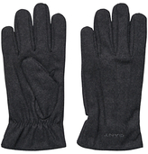 Gant Melton Wool Rich Gloves, Charcoal