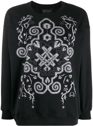 Mr & Mrs Italy digital print boxy fit sweatshirt
