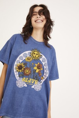 Urban Outfitters Alive With Passion Overdyed T-Shirt Dress