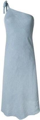 Venroy One-Shoulder Asymmetric Dress