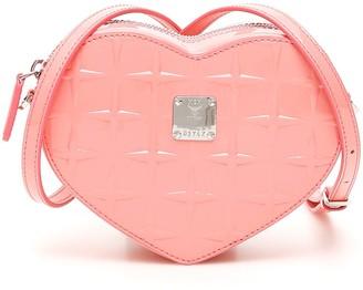 MCM Patricia Diamond Heart Bag