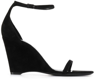 Saint Laurent Wedge Heel 90mm Sandals