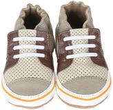 Robeez Beige Trendy Trainer Leather Bootie