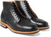 Viberg - Service Leather Brogue Boots