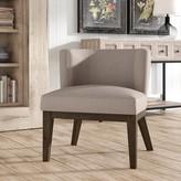 Laurèl Barnard Barrel Chair Foundry Modern Farmhouse Upholstery Color: Beige