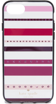 Kate Spade Jeweled Stripe iPhone 7 Case / 8 Case