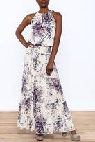 Love Stitch Lovestitch Jenna Floral Maxi Dress