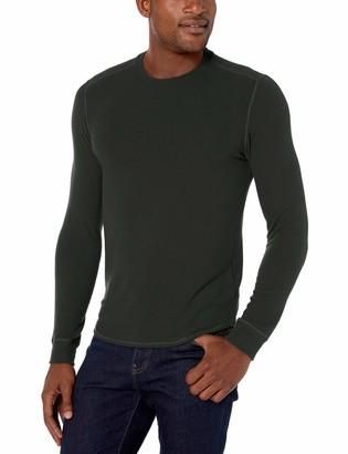 Velvet by Graham & Spencer Men's Bronson Heather Jersey Knit Long Sleeve Shirt
