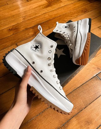 Converse Run Star Hike Hi sneakers in white