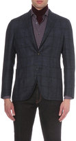 Boglioli Checked Wool-blend Jacket