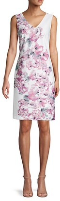Donna Ricco Floral Sheath Dress