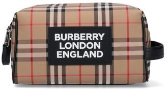 Burberry Vintage Check Toiletry Bag