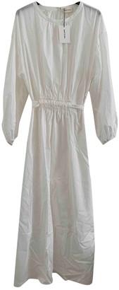 Matteau White Cotton Dresses