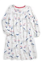 Toddler Girl's Mini Boden Print Nightgown