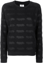 Zoe Karssen bat embroidered sweater