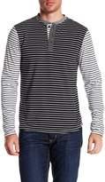 Sovereign Code Elsinore Striped Henley Shirt